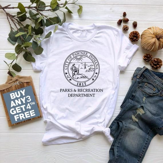 2ea024485db5b City of Pawnee Indiana Tshirt Parks and Recreation Department Shirt ...