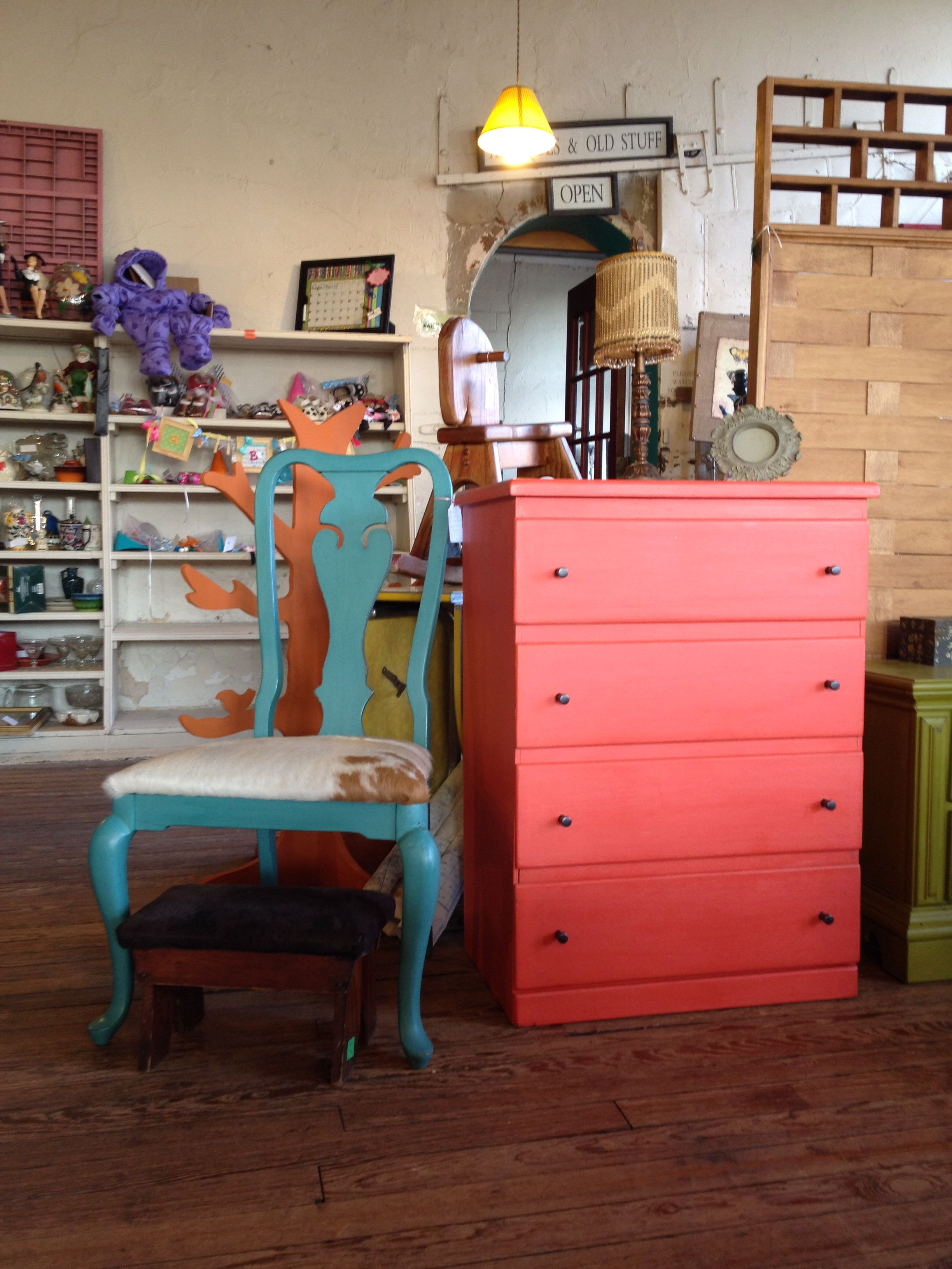 Chest Of Drawers Done In American Paint Company Coral Reef Americanpaintcompany Apc Oldstore Piedm American Paint Company Paint Companies Bedroom Makeover