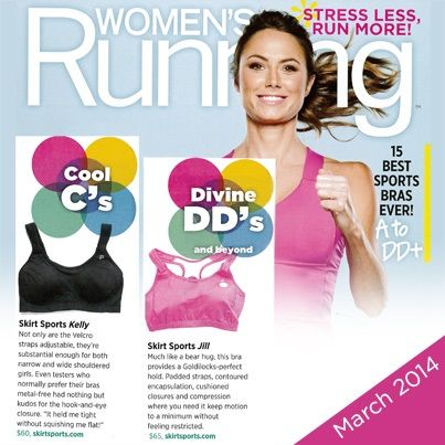 a64b6c5c18730 Bossom buddies, Kelly and Jill are features in Women's Running Magazine!