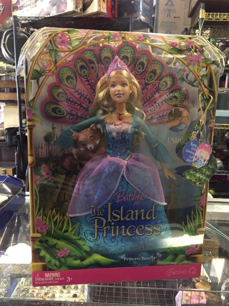 Barbie The Island Princess Rosella doll *NEW*