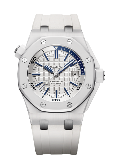 Audemars Piguet Royal Oak Offshore White Ceramic Case ...