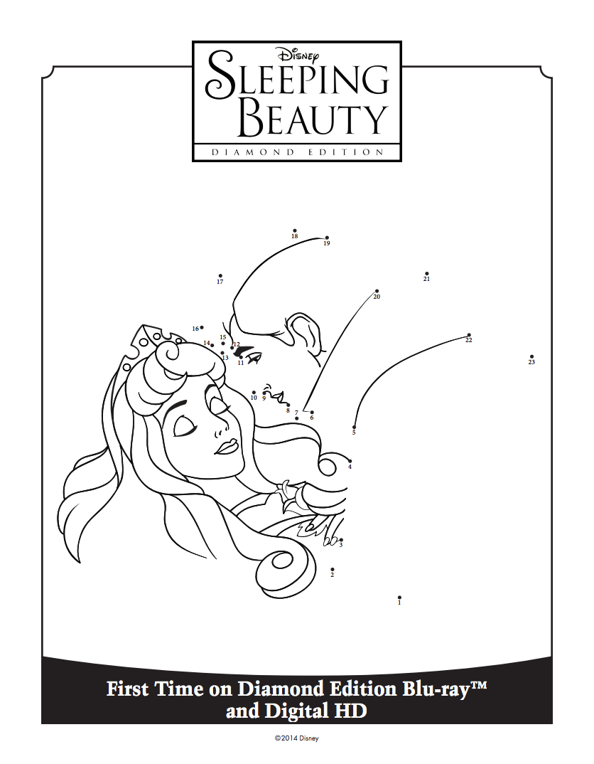 Sleeping Beauty Connect The Dots Disney Coloring Pages Disney Sleeping Beauty Sleeping Beauty Maleficent