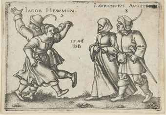 July and August, from: The Peasant's Feast (The Twelve Months) (Bartsch 157; Hollstein, Pauli 180)