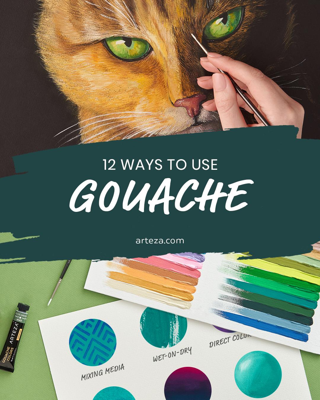 Gouache Painting Techniques