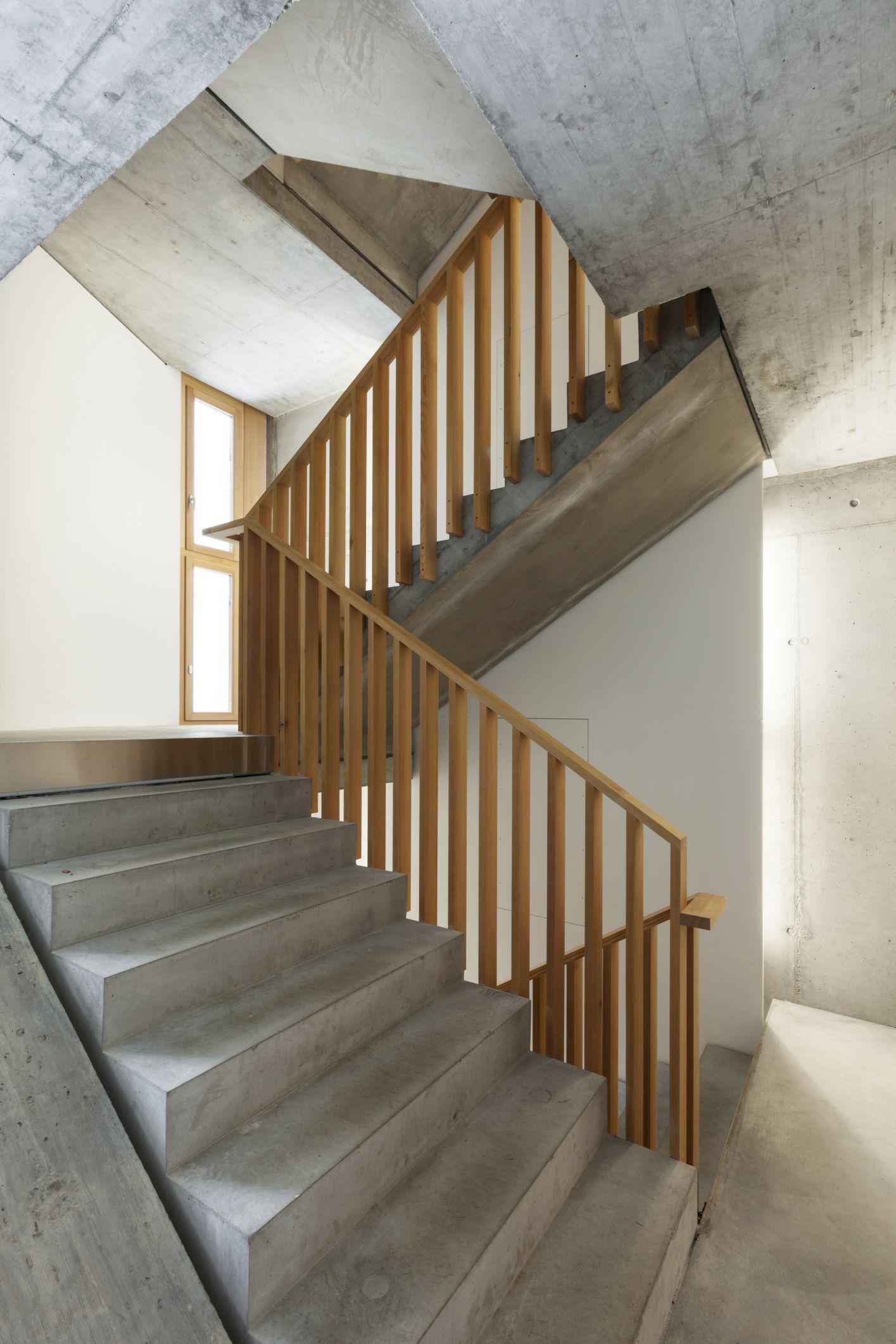 101 Staircase Design Ideas Photos Klatki Schodowe   Concrete Stair Design For Small House