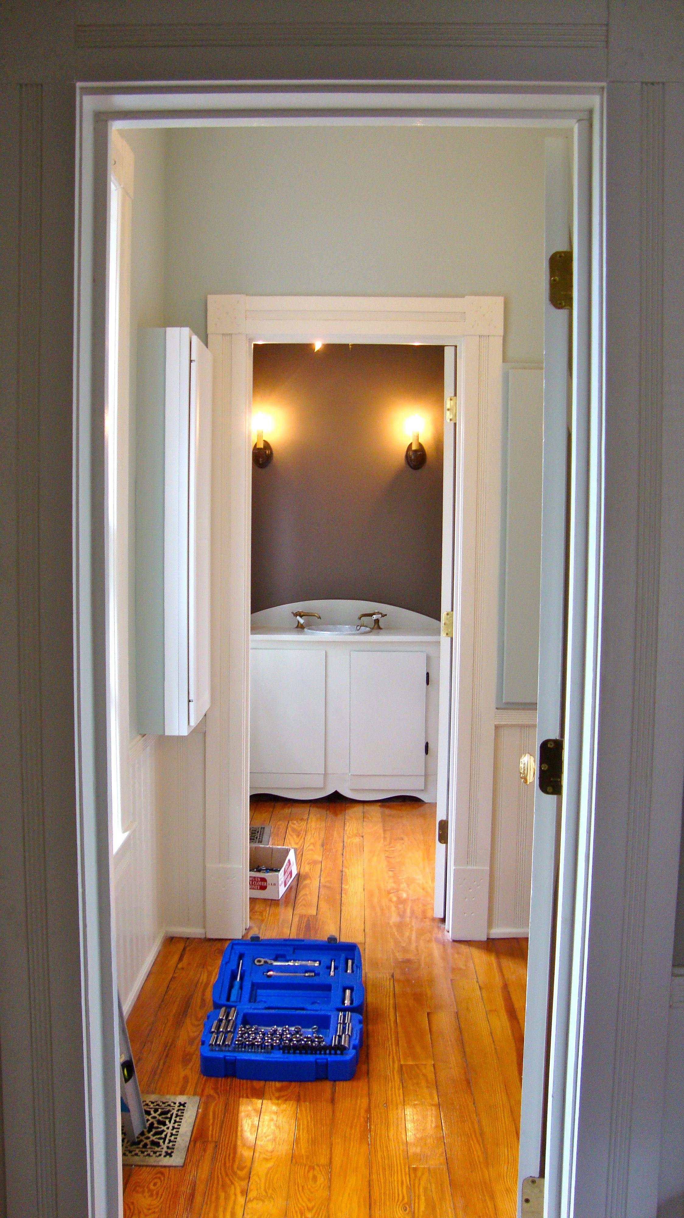 Hallway sherwin williams jogging path laundry room