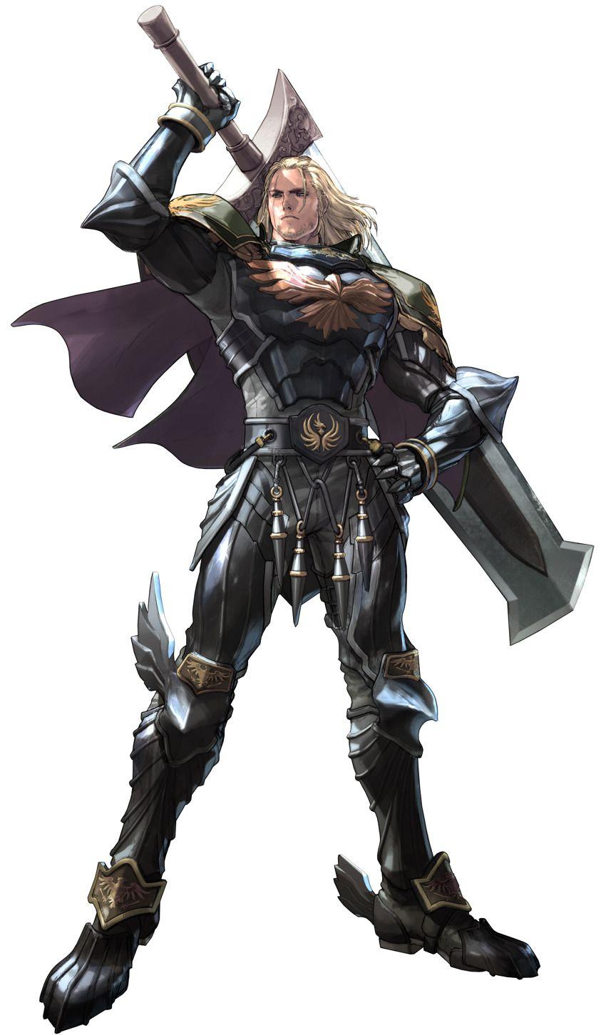 Gauntlet Of Siegfried : gauntlet, siegfried, Greaves, Armor, Blonde_hair, Breastplate, Facial_hair, Full_armor, Gauntlets, Calibur, Characters,, Calibur,, Soulcalibur