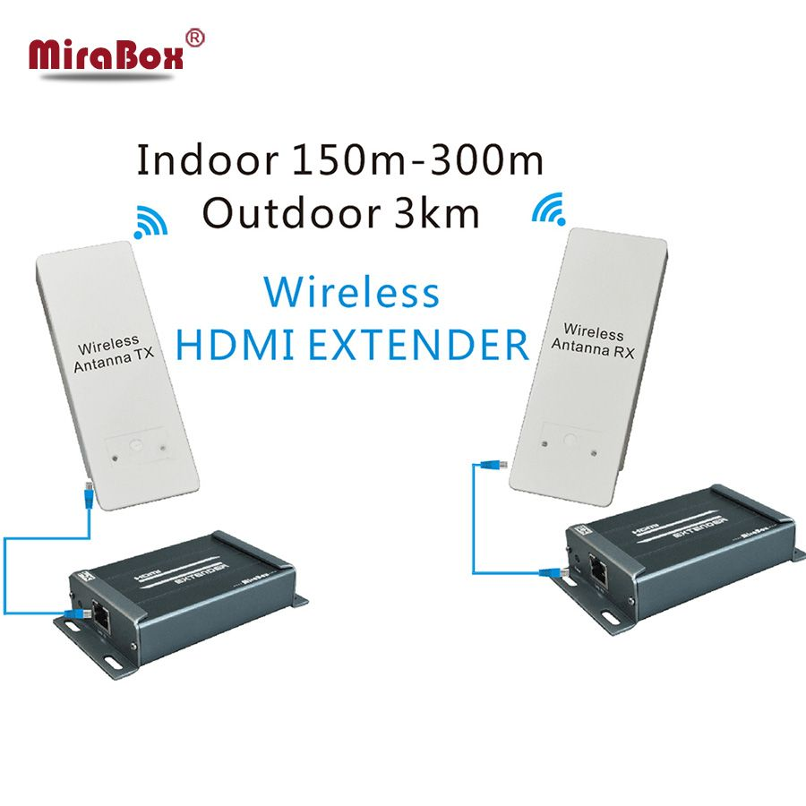 1080p wireless hdmi extender 58ghz support max 3km outdoor hdcp wireless transmitter and receiver