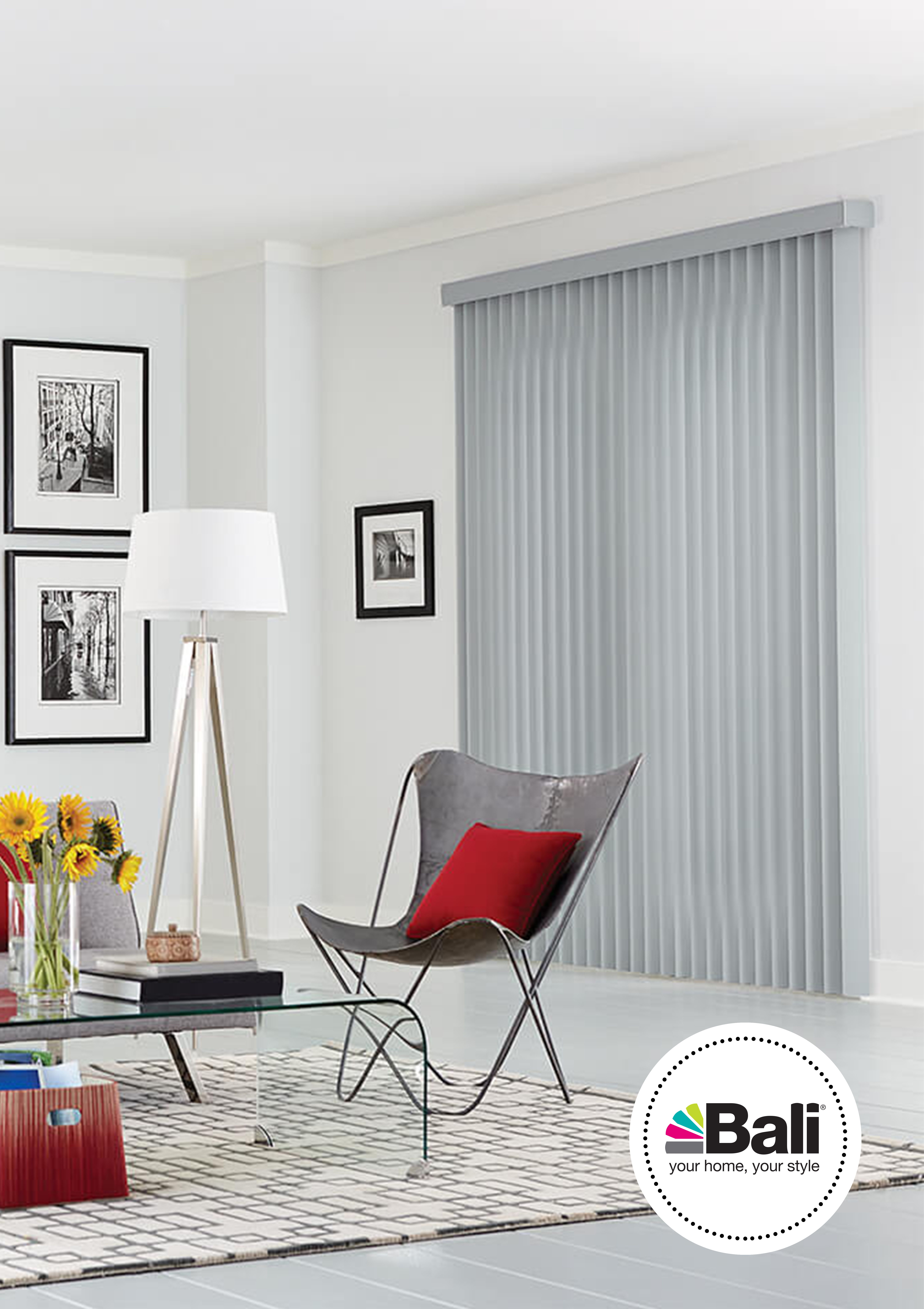 Long lasting easy gliding and boasting a variety of styles bali vertical blinds make the tried and true feel brand new our spin on this home décor