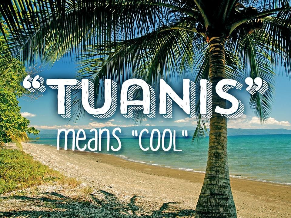 In Costa Rica Btw Tuanis Means Cool Or Awesome Costarica Dichos Spanish