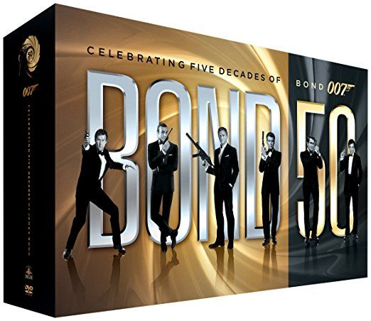 50 Years Of James Bond Dvd Collection James Bond Movies James