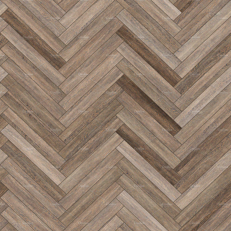Seamless wood parquet texture (herringbone neutral) by