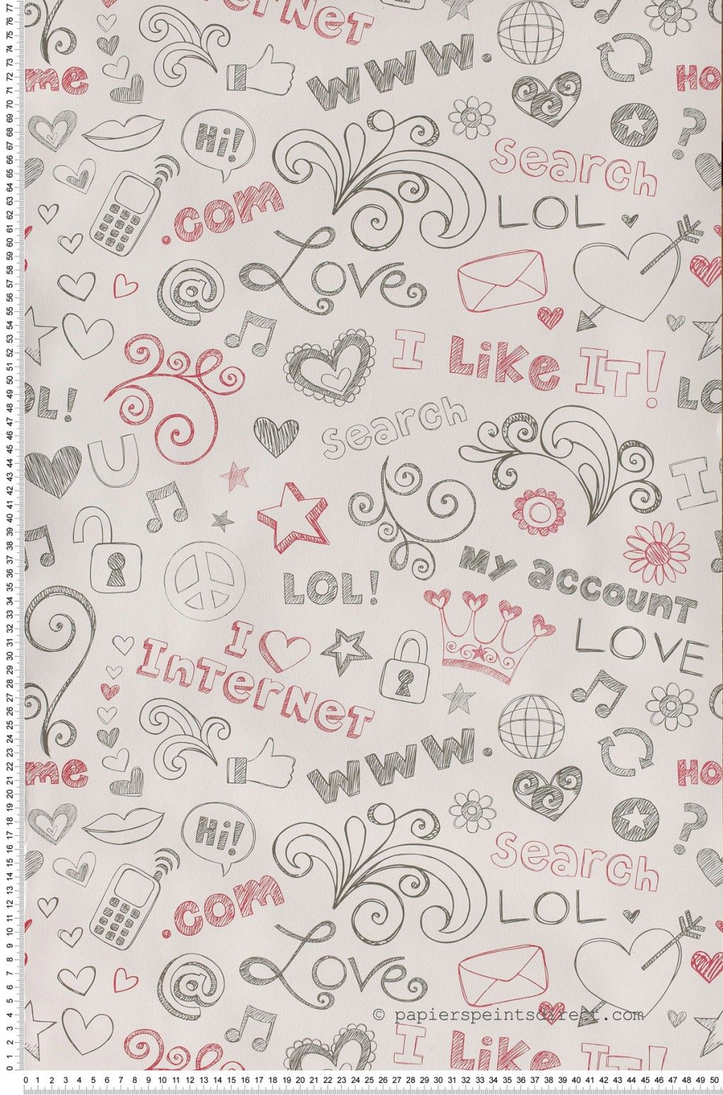 papier peint lol girls onl casélio : papier peint chambre d'enfant à