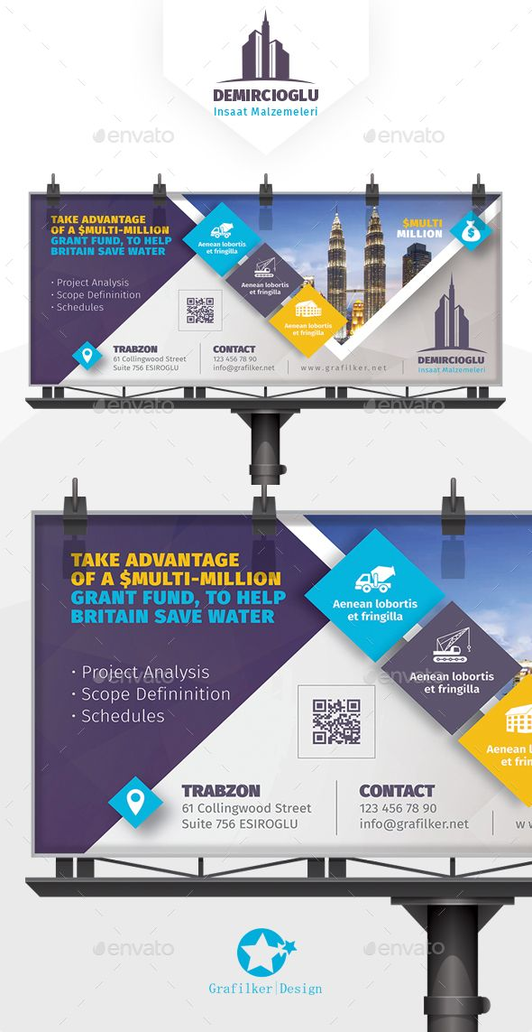Construction Billboard Templates Billboard, Template and - construction schedules templates