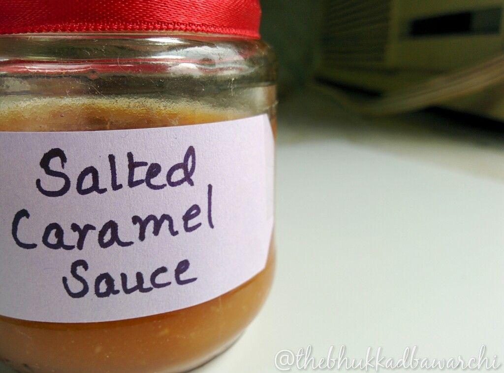 Homemade Salted Caramel Sauce |