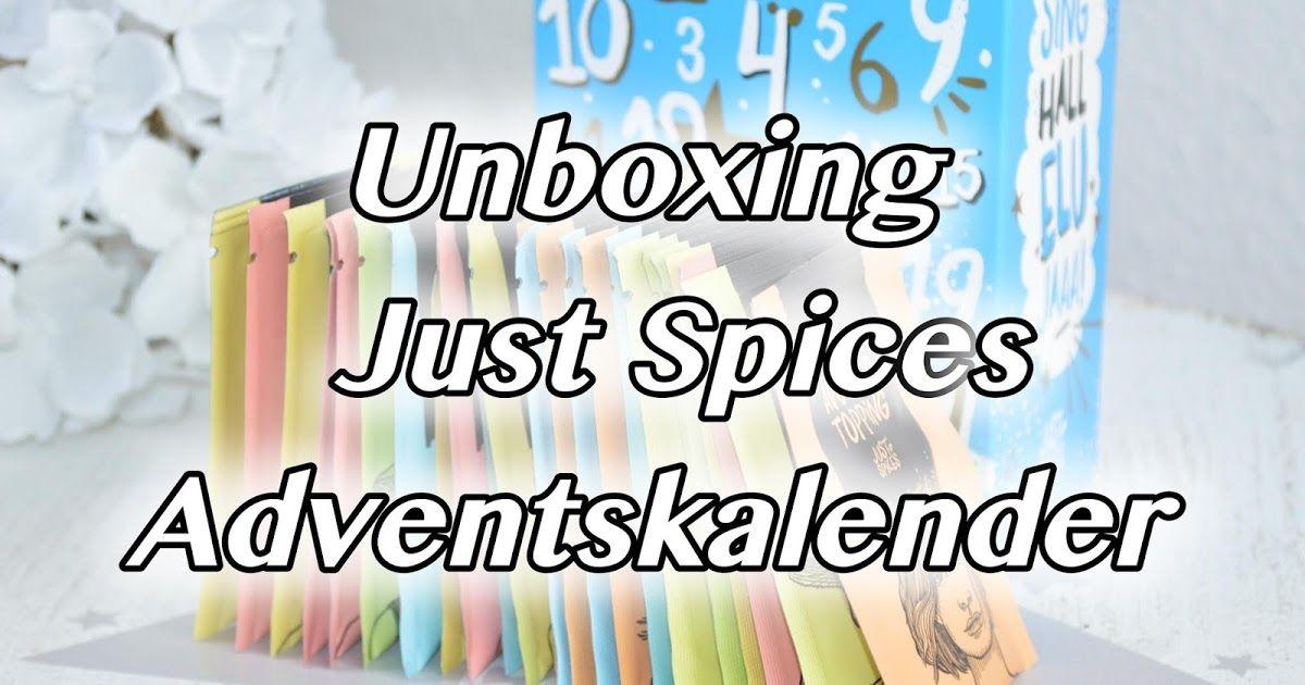 [Unboxing] Just Spices Adventskalender 2018