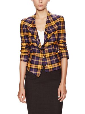 Red Label Wool Tartan Blazer