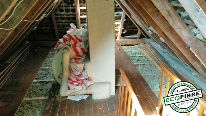 Wärmedämmung Wärmedämmung, Haus gesucht und Dachboden loft