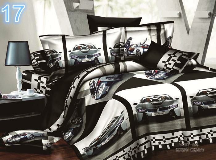4 Piece 3D Luxury Bedding Set from Juliano™. Only at www.pandadeals.co.uk