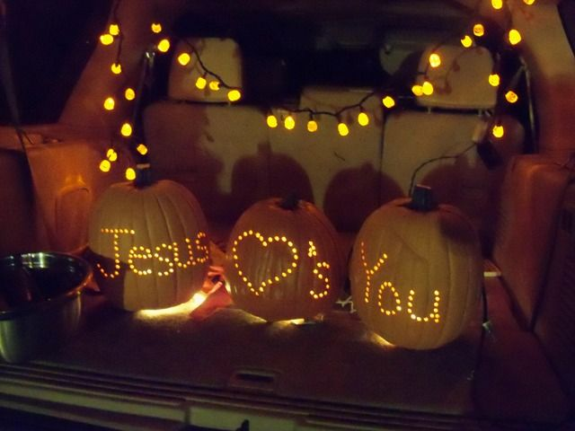 christian trunk or treat ideas - Google Search | Trunk or ...