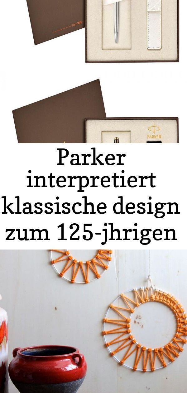 Photo of Parker tolker på nytt klassisk design til 125-årsjubileet #parker # tolket …