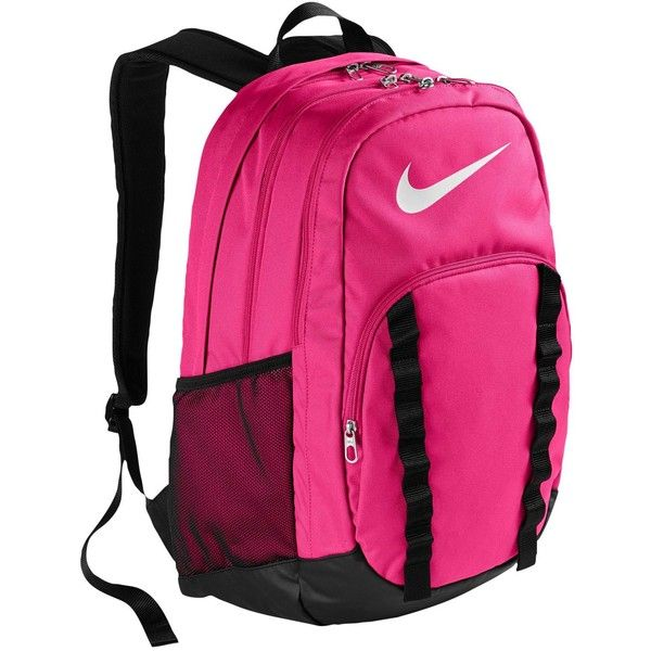 26a148804cde Nike Brasilia 7 XL Backpack ( 45) ❤ liked on Polyvore featuring bags