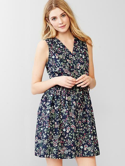 557ffc4f23 Floral fit   flare shirtdress