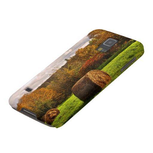 Autumn Hay Harvest Galaxy S5 Case
