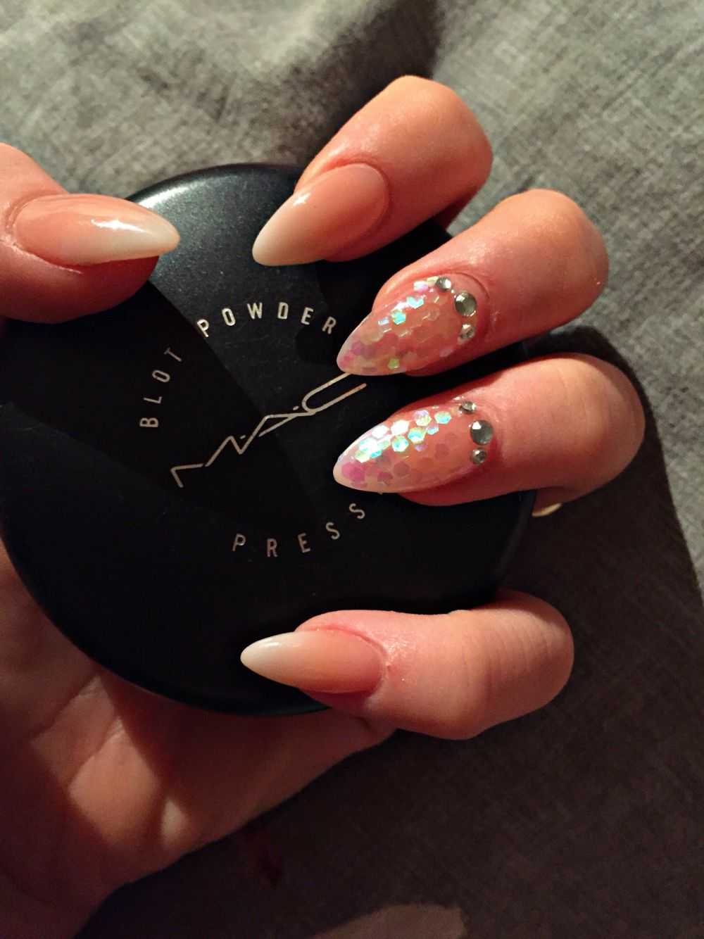 Babyboom With A Glitter Nail   My Nails   Pinterest   Nagelschere