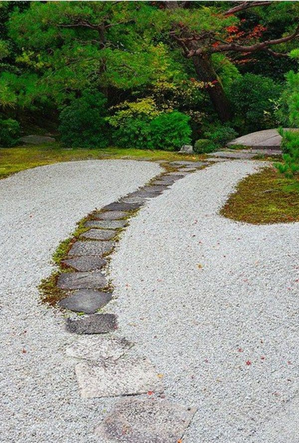 Japanese Garden Patio Creating Flagstone Path Part 83
