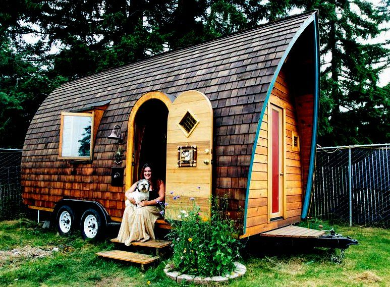 Tiny Modern House On Wheels 8 kinds of houses to die for | tiny houses, small tiny house and house