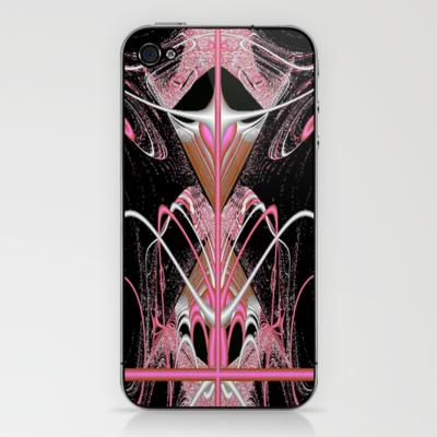 Pink Fantasy iPhone & iPod Skin by Lynn Bolt - $15.00