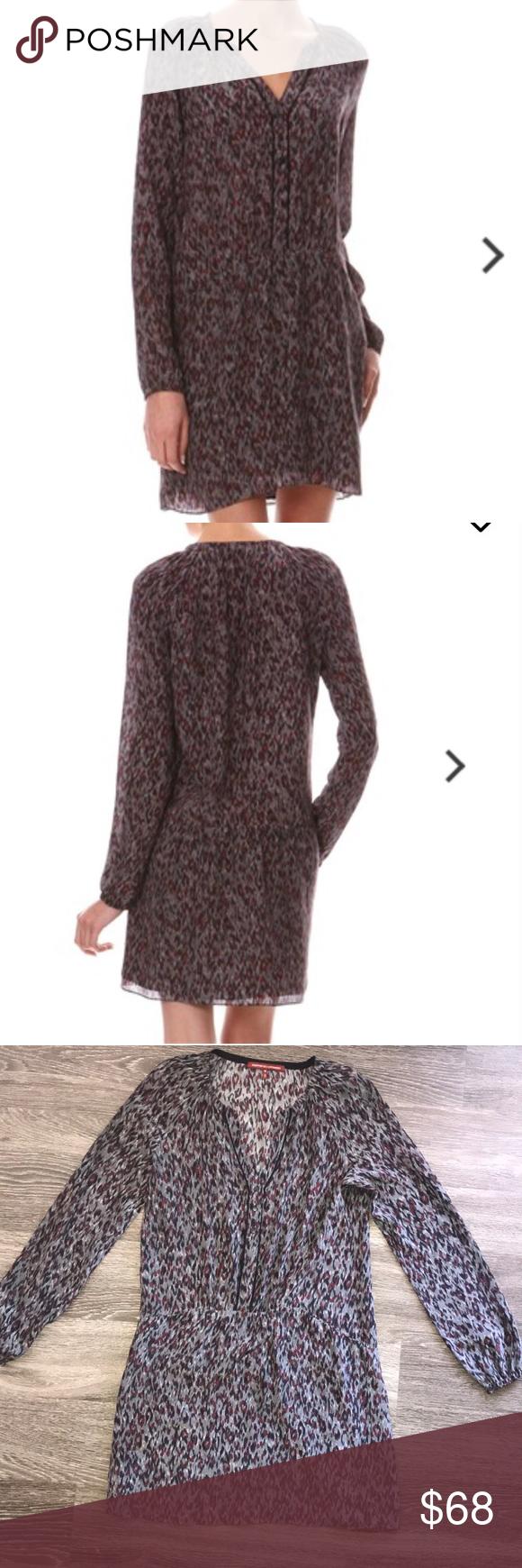 Comtoir Des Cotonniers Pucket Silk Dress Clothes Design Dropwaist Dress Fashion