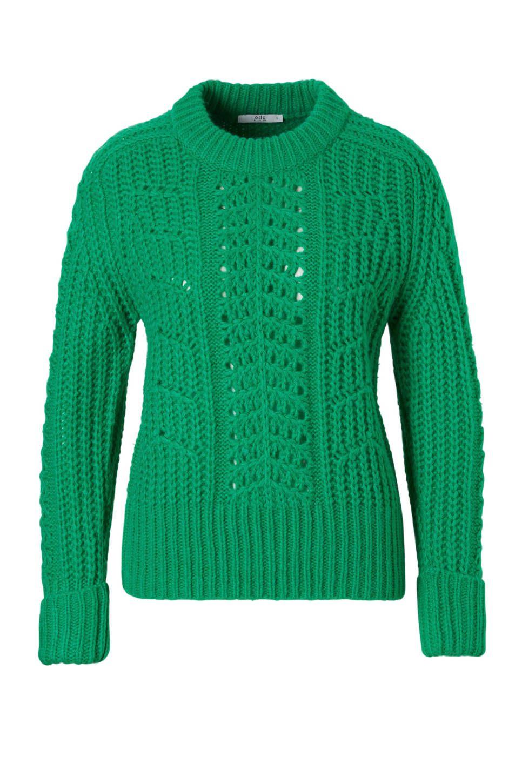 Grof Gebreide Trui Dames.Edc Women Grof Gebreide Trui Trend Kleuren Sweaters En Turtle Neck