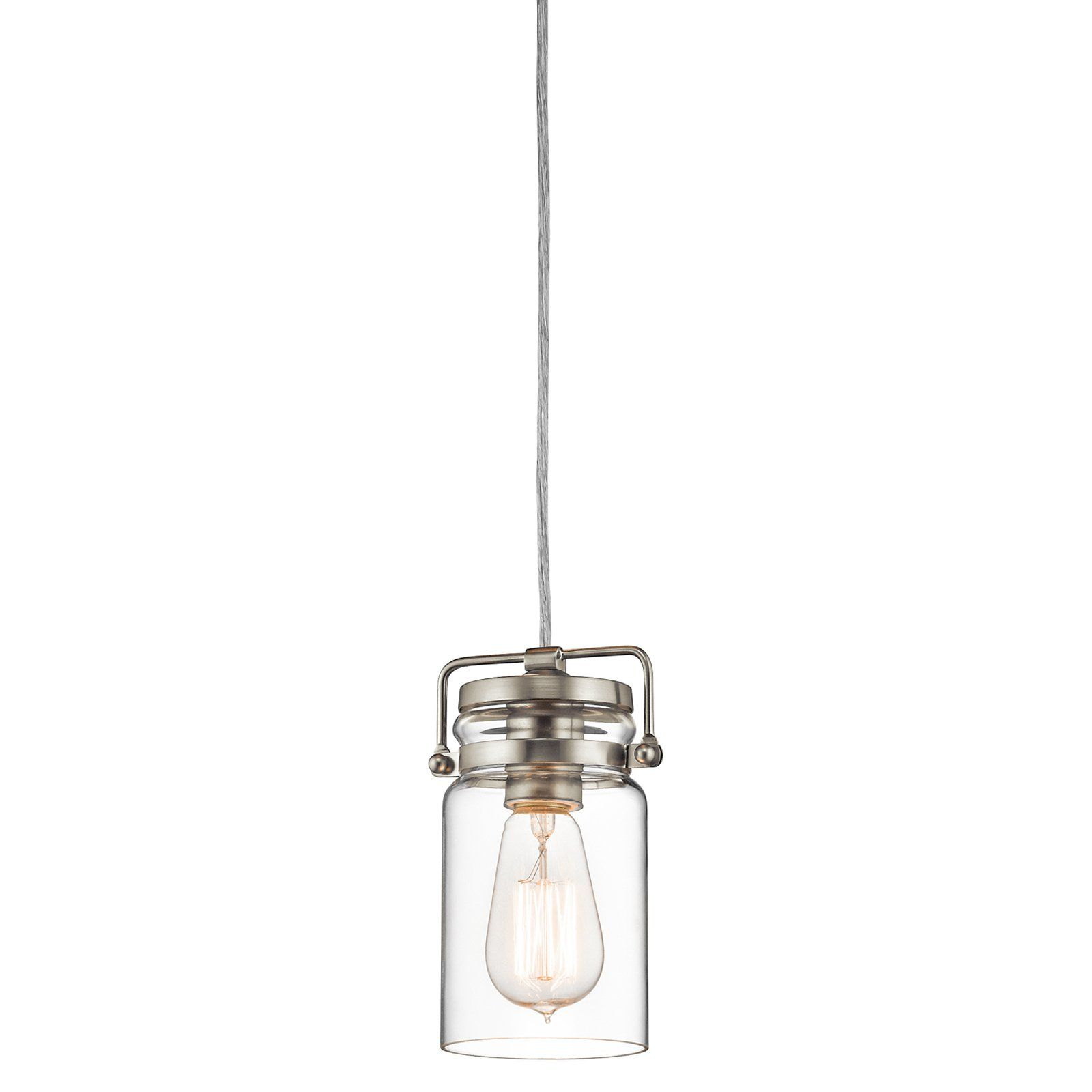 Kichler brinley mini pendant light from hayneedle