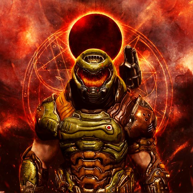 Doomguy By Yare Yare Dong Dat8oqe Png 1080 1920 Doom Videogame Doom Doom 4