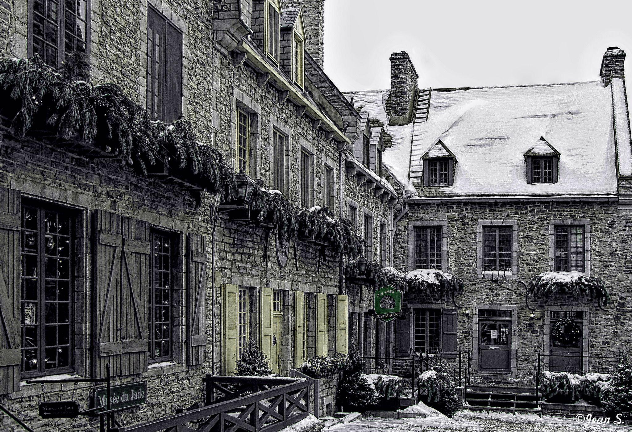 Vieilles pierres | Place Royale, ville de Québec - Février 2011.