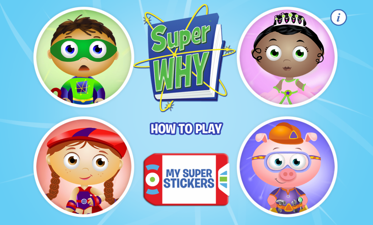 Pin by Crafty Annabelle on Super Why Printables Kids app