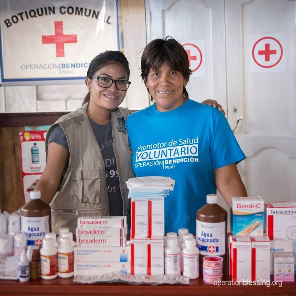 Operation Blessing community medical kits are a great