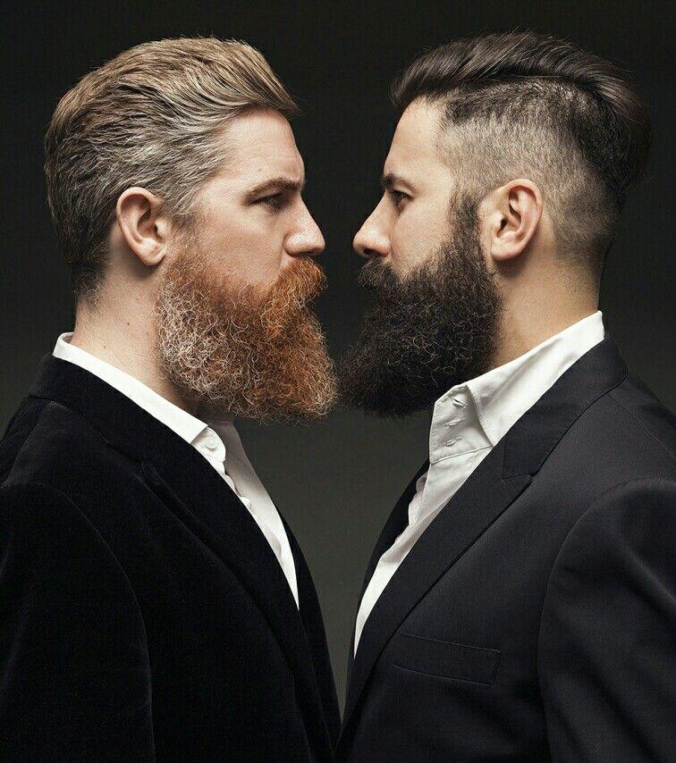 Beard Brothers Ginger Beard Vs Black Beard Hair And Beard