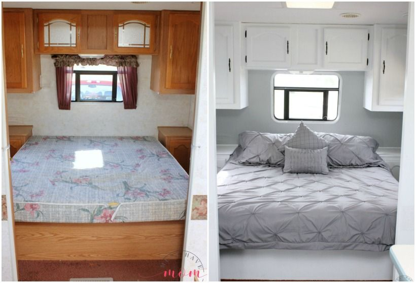 Easy Rv Makeover With Instructions To Remodel Rv Interior