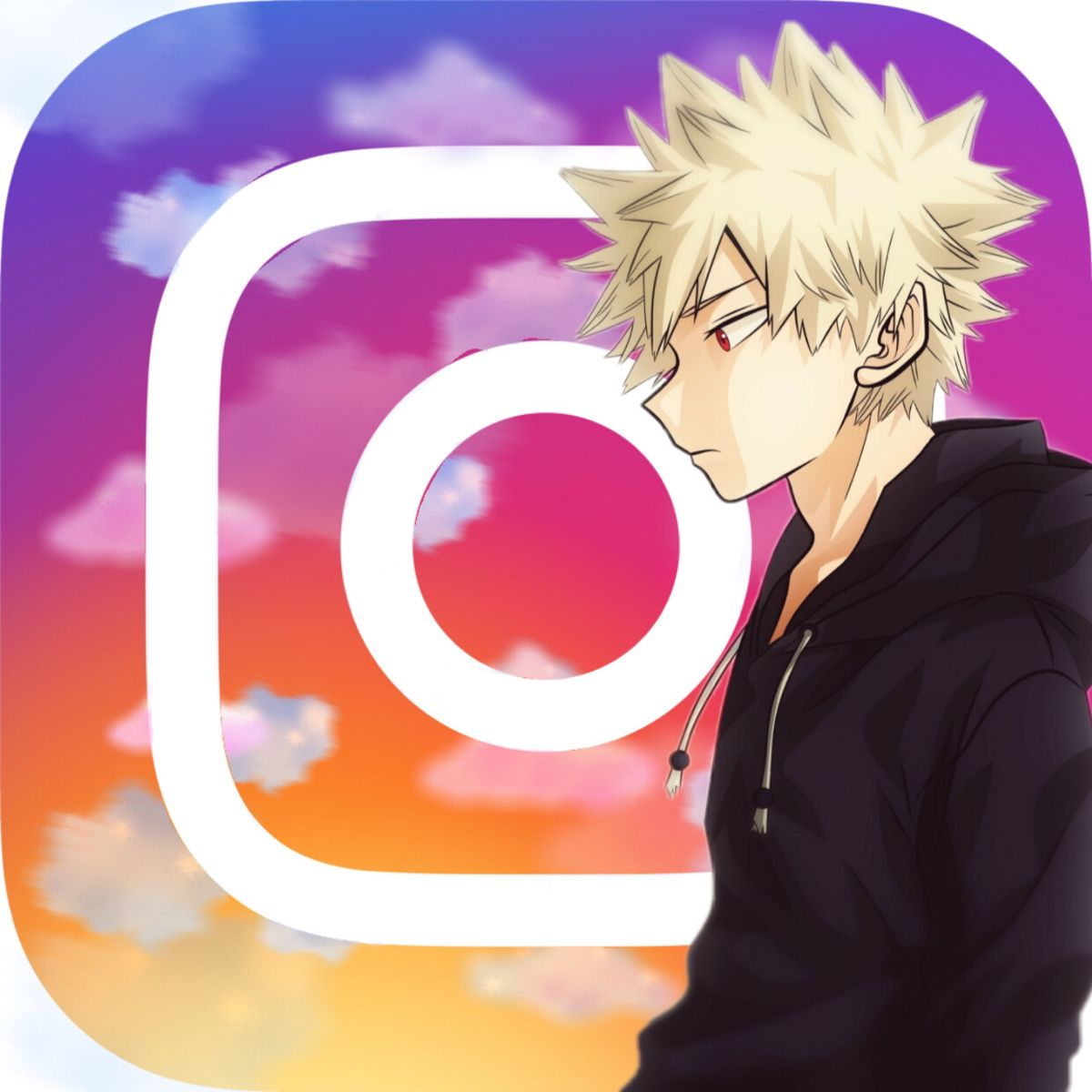 Bakugou In 2020 Iphone Icon App Anime Animated Icons