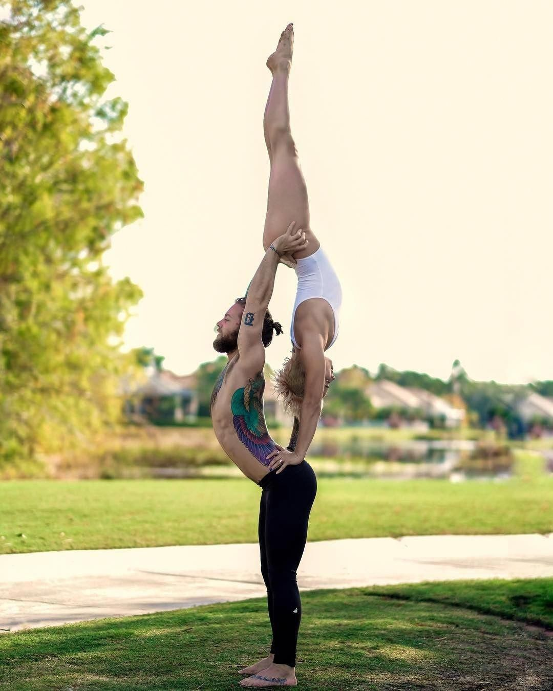 Learn Yoga Step By Step Couples Yoga Poses Acro Yoga Poses
