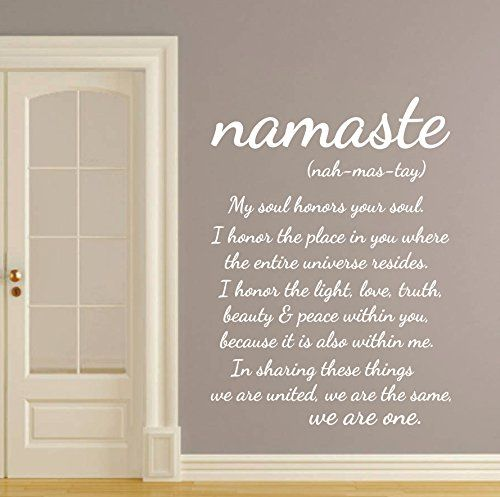 Wall Decals Quotes Buddha Quote Nah Mas Tay I Honor You Soul