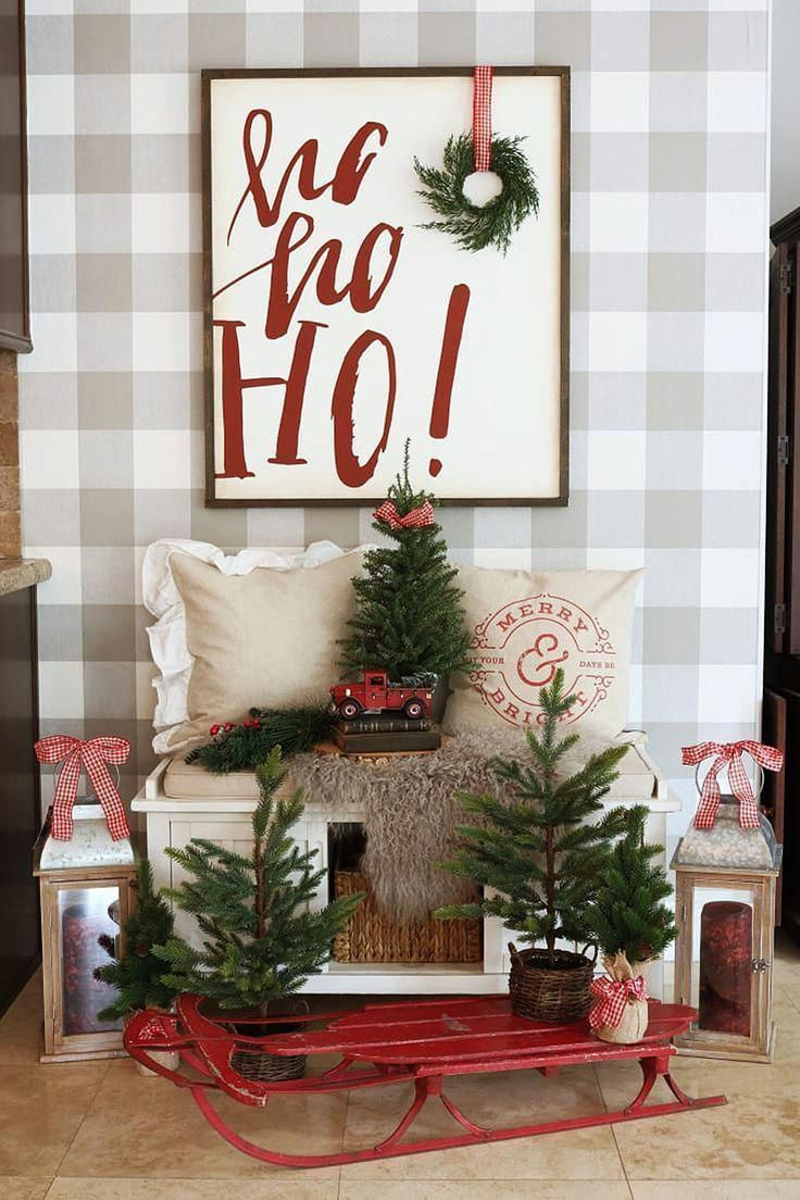 Home In 2020 Indoor Christmas Decorations Christmas Decor Diy