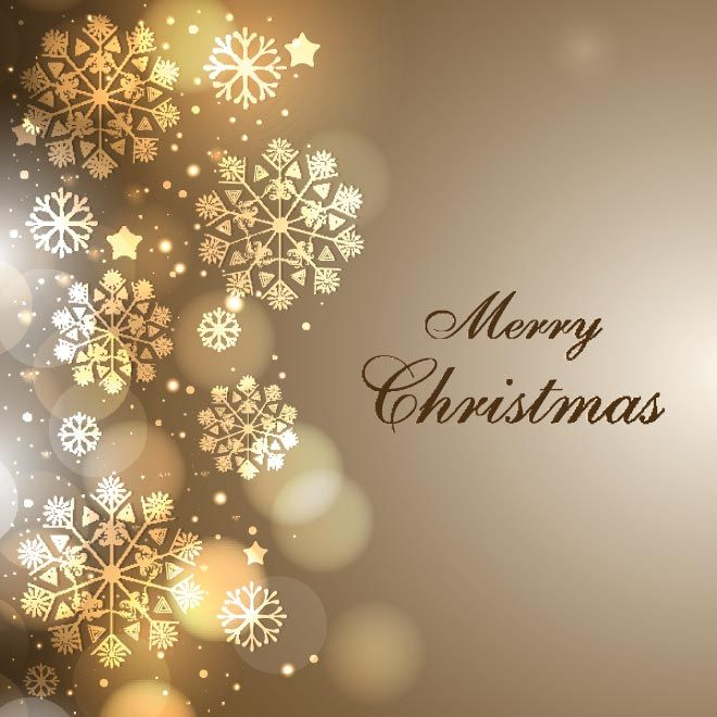 Free Vector Elegant Background Merry Christmas Wallpaper