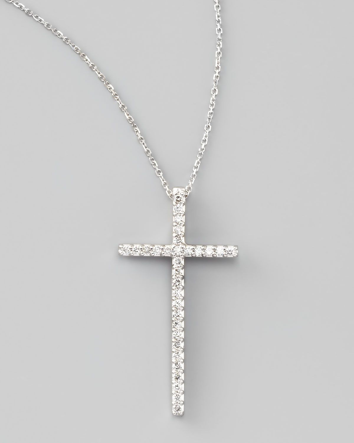 Httpharrislovekc designs large diamond cross pendant httpharrislovekc designs large diamond mozeypictures Gallery