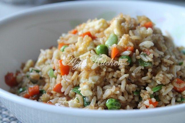 Azie Kitchen Chinese Style Nasi Goreng Sedap Dan Mudah