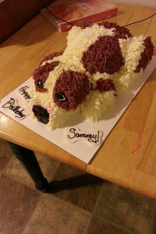 Puppy cake. Rachel Lauer on Facebook.