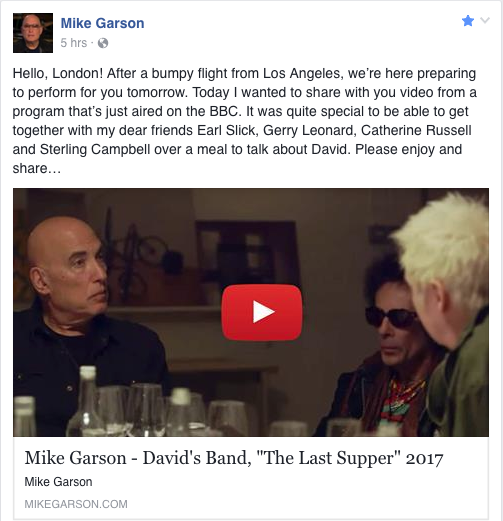 Mike Garson, January 2017.